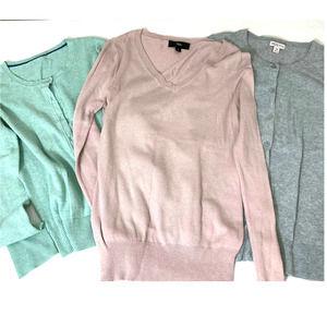 TARGET Pastel Sweater Cardigan Set